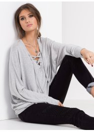 MUST HAVE: Strickshirt, relaxed, RAINBOW