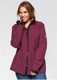 Softshelljacke, bpc bonprix collection, beere