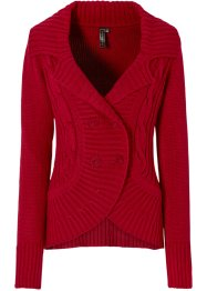 Strickjacke, BODYFLIRT boutique, magenta