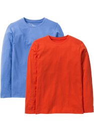 Basic-Langarmshirt (2er-Pack), bpc bonprix collection