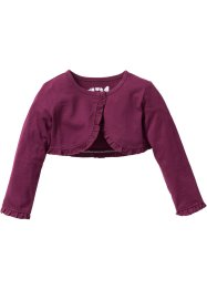 Bolero Jacke, bpc bonprix collection, beere