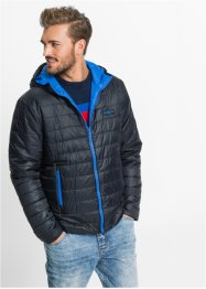 Wendejacke Regular Fit, RAINBOW, schwarz/azurblau