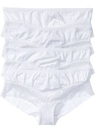 Panty (4er-Pack), bpc bonprix collection, weiß