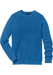 Pullover Regular Fit, bpc bonprix collection, blau