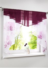 Transparentes Kleinfenster mit Blumen Druck, bpc living bonprix collection