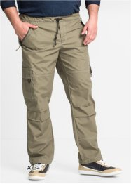 Cargo-Schlupfhose Loose Fit Straight, bpc bonprix collection, oliv