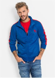 Trikot-Jacke im Slim Fit, RAINBOW