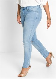 Push-up Skinny Jeans, BODYFLIRT, blue bleached