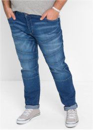 Stretch-Jeans Slim Fit, RAINBOW, medium blue bleached used