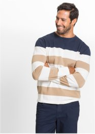 Blockstreifen-Pullover Regular Fit, bpc bonprix collection
