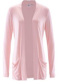 Stretch-Shirtjacke, bpc bonprix collection, perlrosa