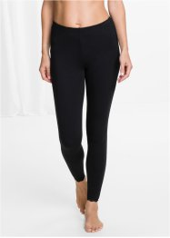 Leggings Bio-Baumwolle, bpc selection, schwarz