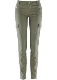Cargohose aus Baumwollstretch, bpc bonprix collection, oliv