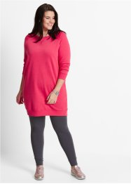 Sweatkleid, bpc bonprix collection, hibiskuspink