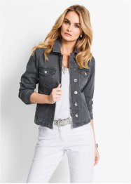 Jacke, bpc selection, grey denim
