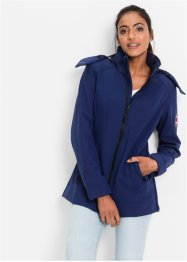 Stretch-Softshelljacke, bpc bonprix collection, mitternachtsblau