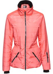 3-in-1-Funktions-Steppjacke, bpc bonprix collection, neonlachs