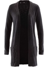 Strickjacke, Langarm, bpc bonprix collection, schwarz