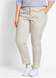 Stretchhose, bpc bonprix collection, kieselbeige