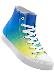 Sneaker high, bpc bonprix collection, blau