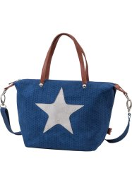 Tasche Stern, bpc bonprix collection, blau