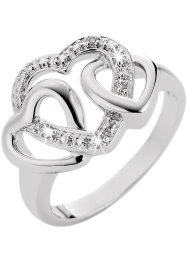 "Ring ""Herz"", bpc bonprix collection, silber"