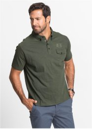 Poloshirt im Regular Fit, bpc selection, beerenrot