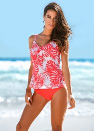 Tankini (2-tlg. Set), bpc selection, hummer/weiß