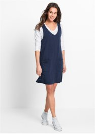 Sweatkleid, bpc bonprix collection, dunkelblau meliert