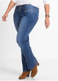 "Power-Stretch-Jeans ""Bauch-Beine-Po"" im Bootcut, John Baner JEANSWEAR, blau"