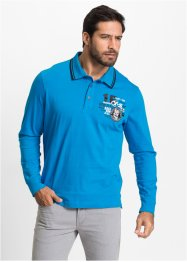 Langarmpoloshirt im Regular Fit, bpc bonprix collection