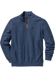 Troyer-Pullover Regular Fit, bpc selection, indigo