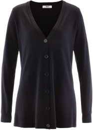Strickjacke, bpc bonprix collection, schwarz