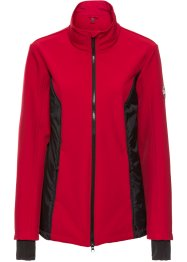 3-in-1 Softshelljacke mit Weste, bpc bonprix collection, dunkelrot