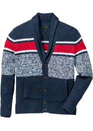Strickjacke mit Schalkragen Regular Fit, bpc selection