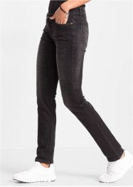 Slim Jeans, RAINBOW, black denim