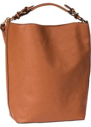 Basic Shopper, bpc bonprix collection, cognac