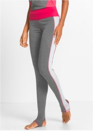 Funktions-Leggings, lang, bpc bonprix collection, anthrazit meliert