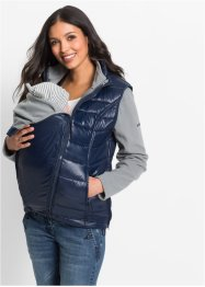 Umstands-Fleecejacke mit Weste und Babyeinsatz, bpc bonprix collection