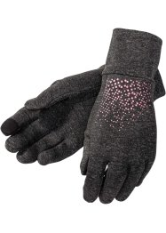 Handschuhe, bpc bonprix collection, schiefergrau