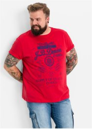 T-Shirt Regular Fit, John Baner JEANSWEAR, rot