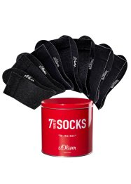 S.Oliver Socken (7er-Pack), s.Oliver RED LABEL Bodywear, schwarz