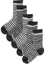 Tom Tailor Damensocken (5er-Pack), Tom Tailor, 5x schwarz