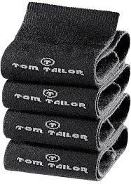 Tom Tailor Socken (4er-Pack), Tom Tailor, schwarz