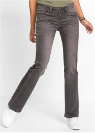 Bootcut-Jeans, RAINBOW, grey denim