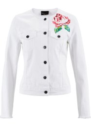 Jeansjacke, bpc selection, white denim