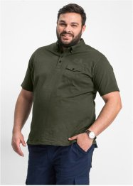 Poloshirt im Regular Fit, bpc selection, oliv