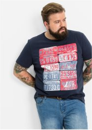 T-Shirt Regular Fit, John Baner JEANSWEAR, dunkelblau