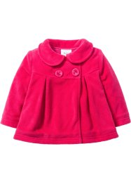 Baby Fleecejacke, bpc bonprix collection, hibiskuspink