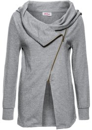 Sweatjacke in gewaschener Optik, John Baner JEANSWEAR